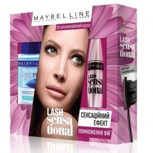 Подарочный набор Maybelline Lash Sensational