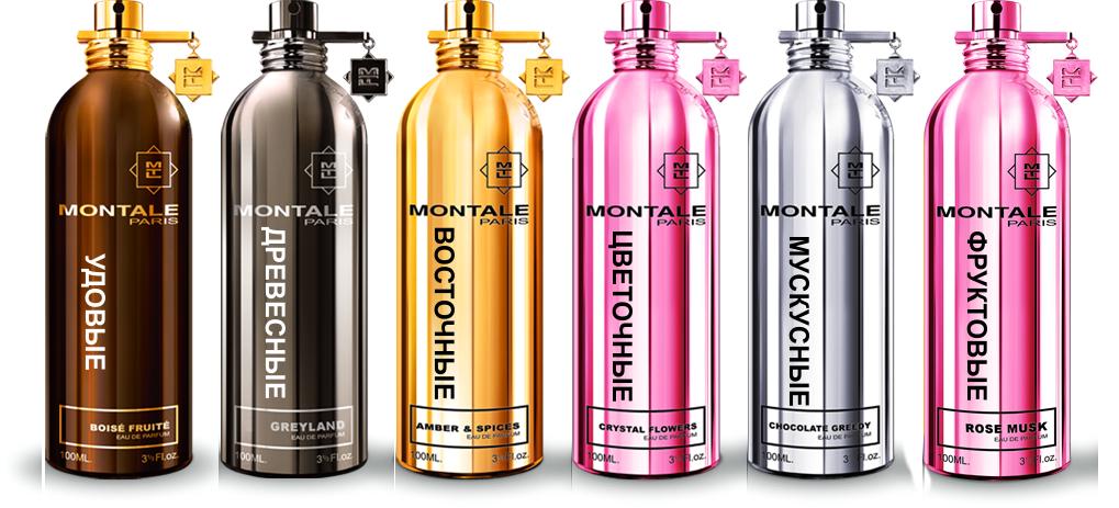 Распив парфюмерии Монталь